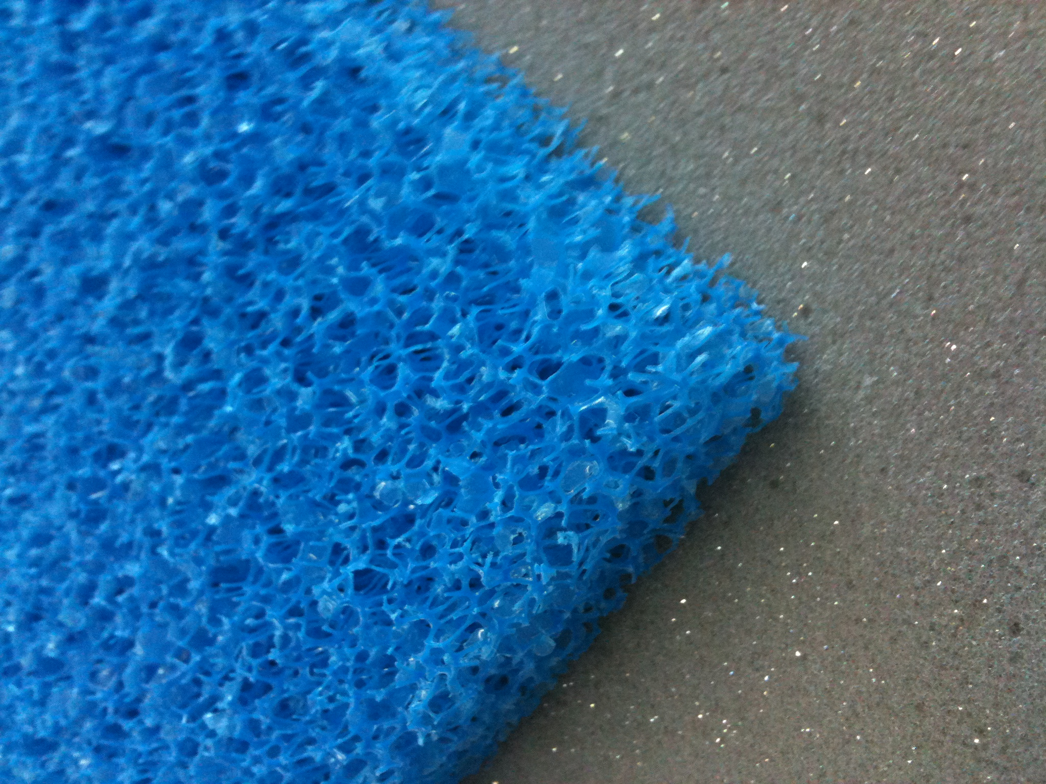 Course Filter Foam Supplied At The Foam Shop Suppliers Of